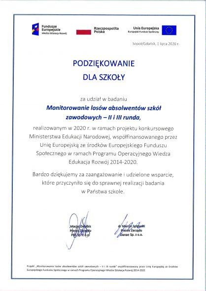 Projekt absolwent